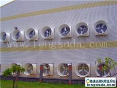 厂房安装通风降温设备