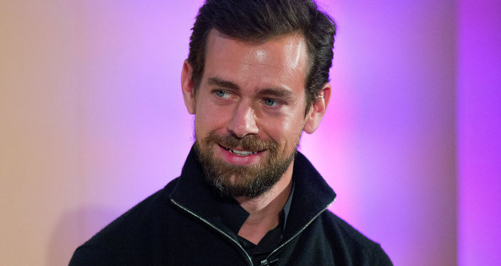 Jack Dorsey, CEO of Square, Chairman of Twitter and a founder of both ,holds an event in London