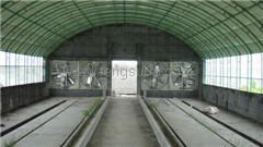 温室大棚安装风机通风降温加湿